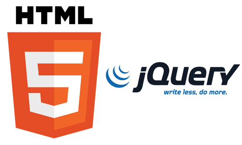 <Html5 and JQuery